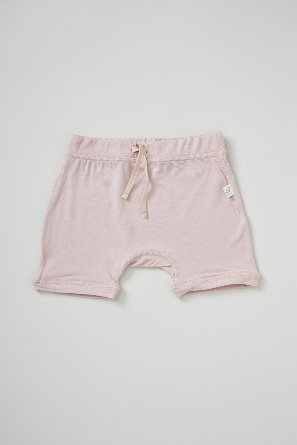 Boody Baby Pull On Short Rose 3-6mth