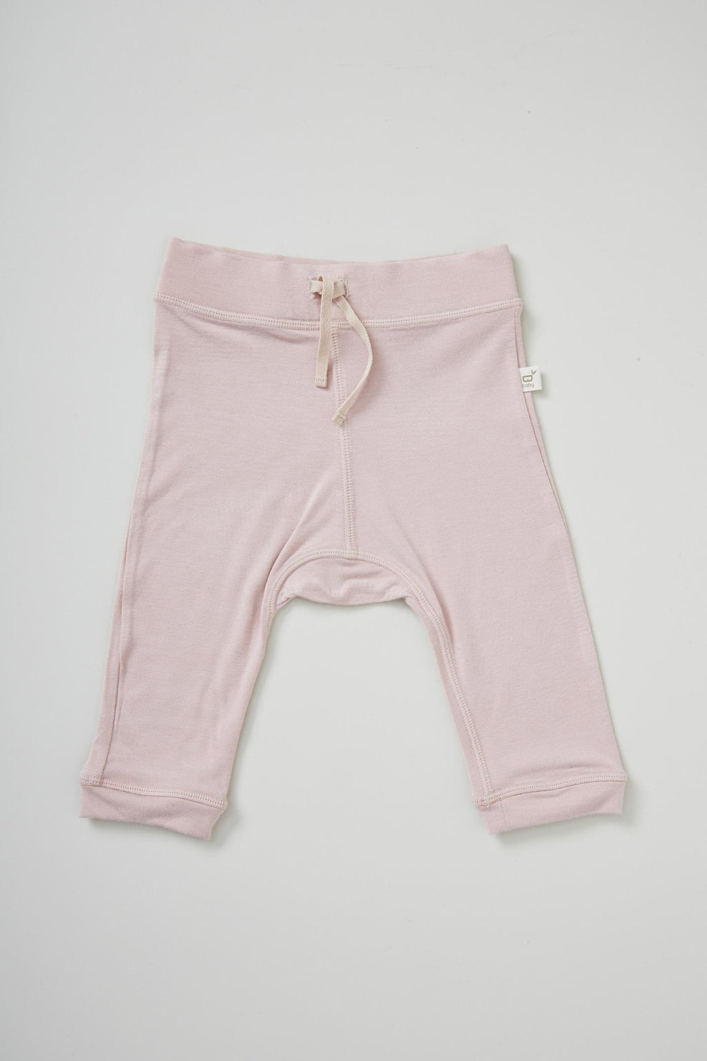 Boody Baby Pull On Pant Rose 3-6mth