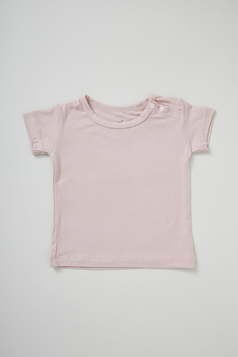 Boody Baby T-Shirt Rose 3-6mth