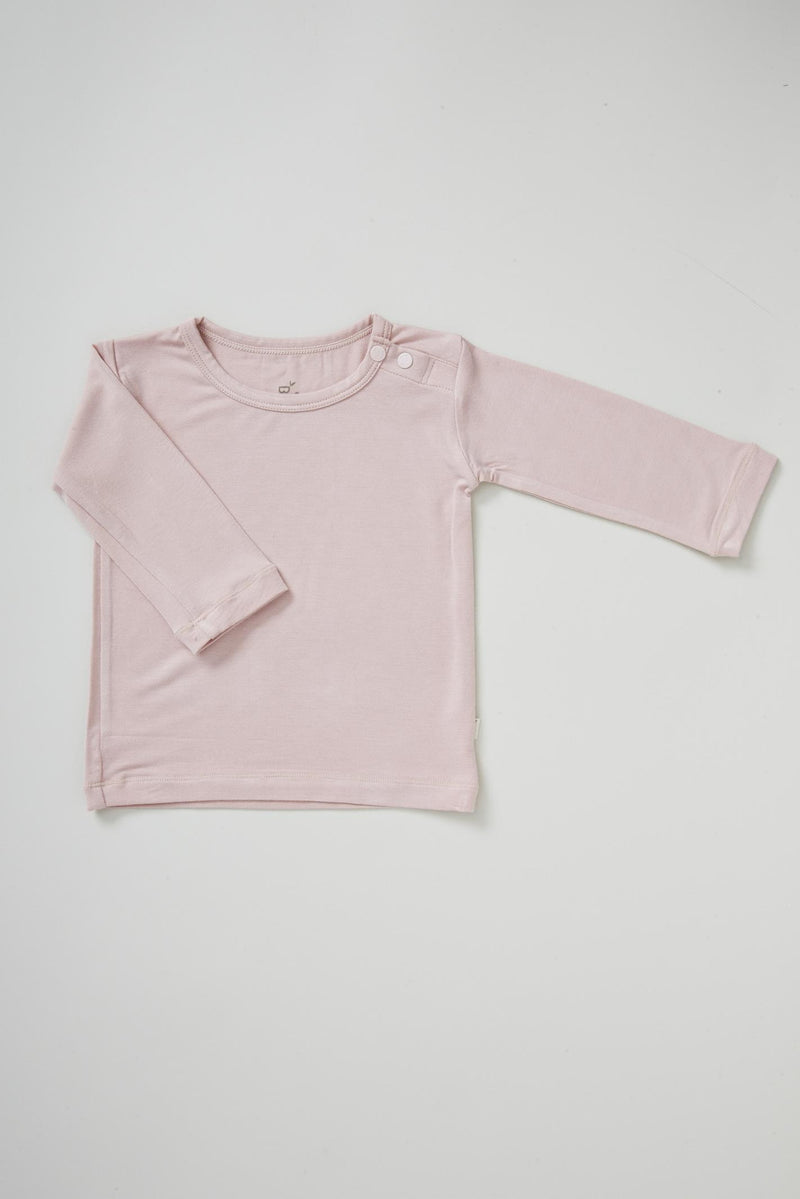 Boody Baby L/S Top Rose 3-6mth