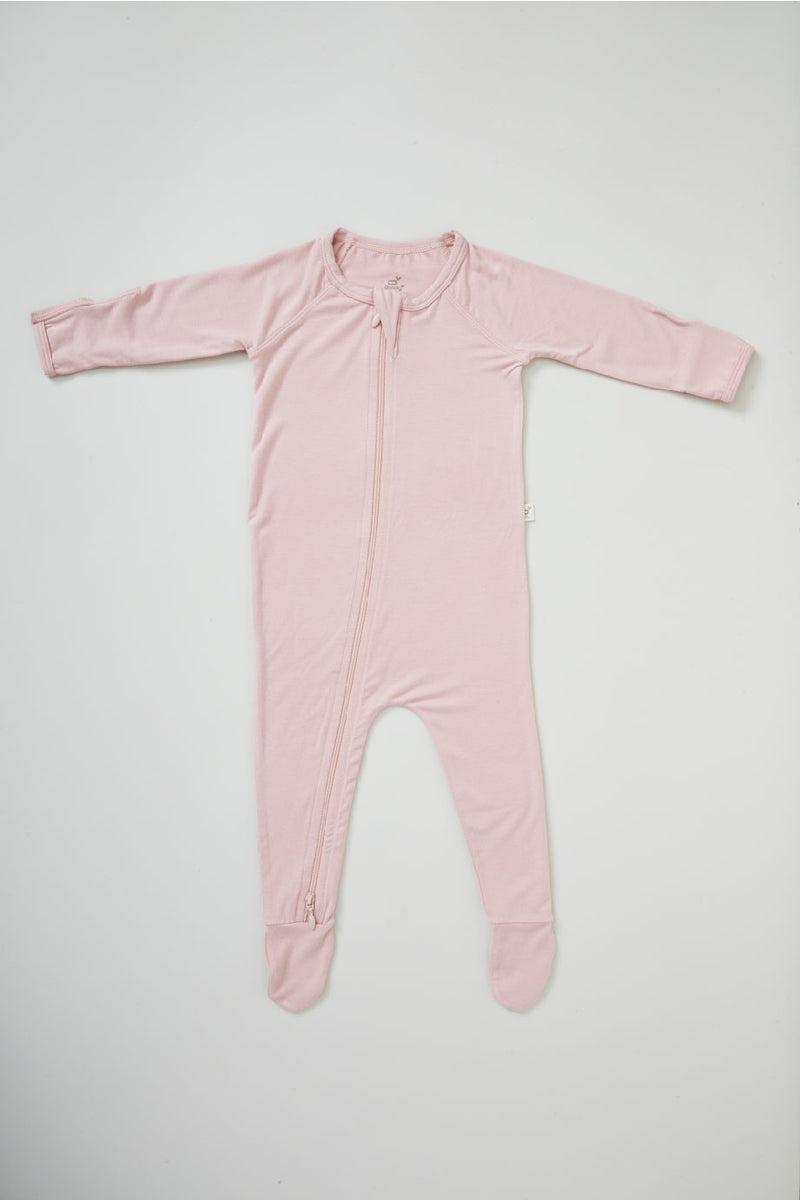 Boody Baby L/S Onesie Rose 3-6mth