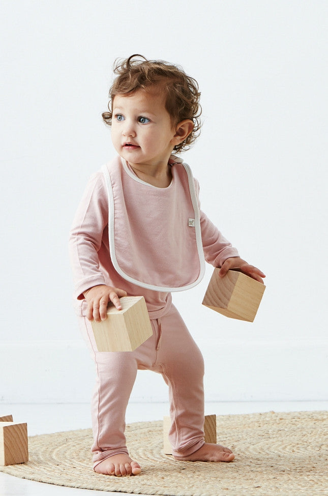 Boody Baby Pull On Pant Rose 12-18mth
