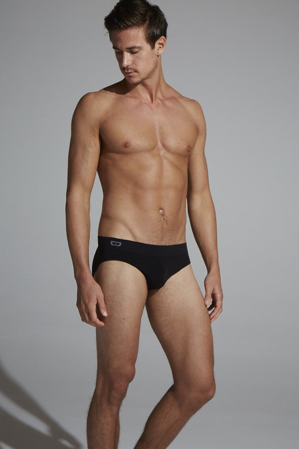 Boody Men's Brief Blk L