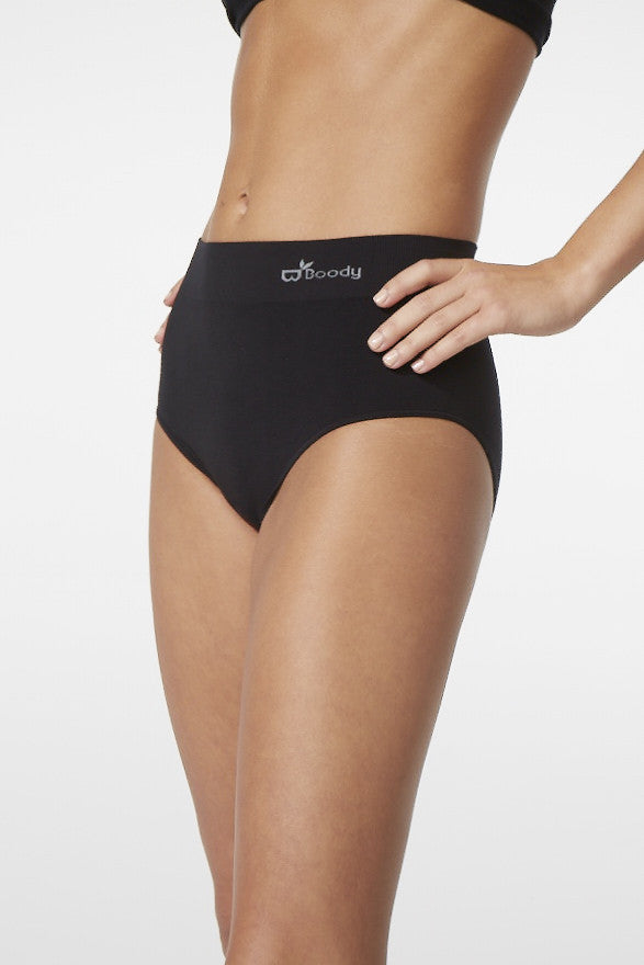 Boody Full Brief Blk Med