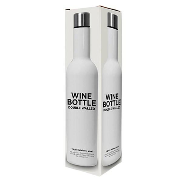 Maytime Wine Bottle Gloss White