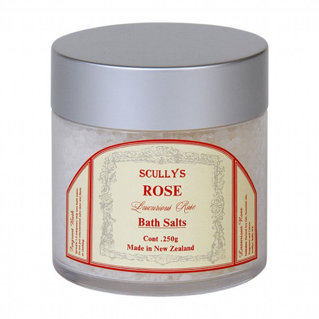 Scully's Rose Bath Salts