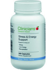CLINIC. Stress & Energy Supp 180cap