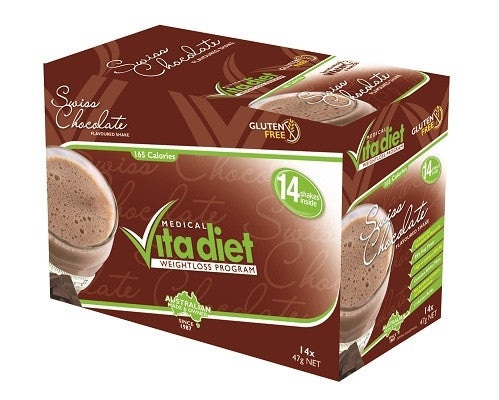 Vita Diet Swiss Chocolate Shakes Box 14