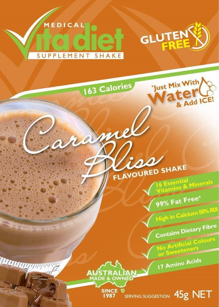 Vita Diet Caramel Bliss Shakes Single