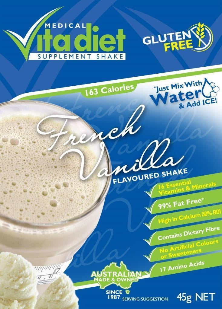Vita Diet French Vanilla Shake Single