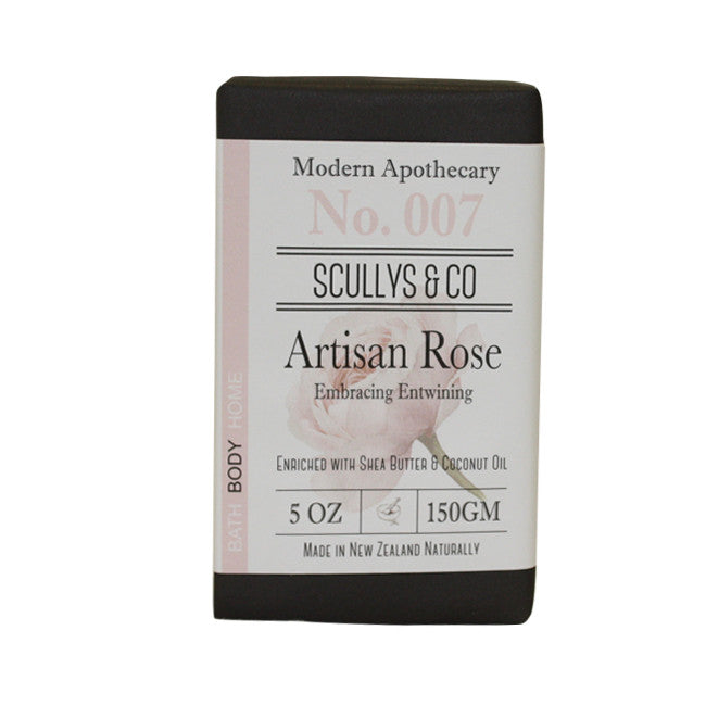 Scully's Artisan Rose Soap(Black)