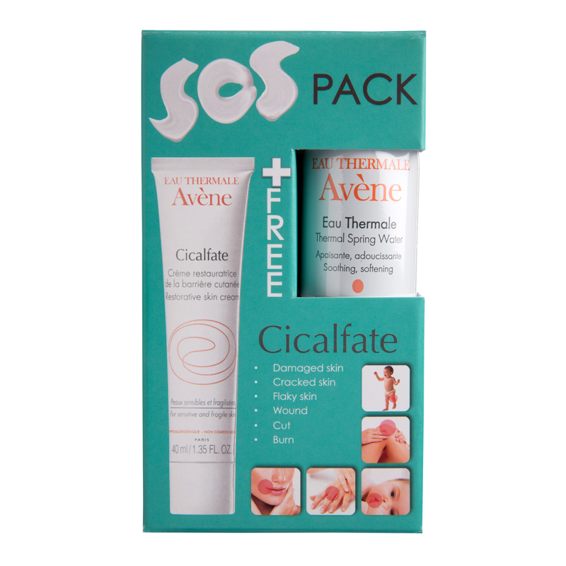 AVENE Cicalfate Cr.40ml +Water 50ml