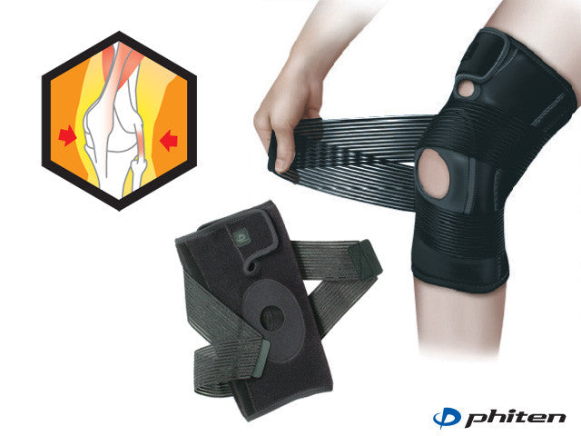 Phiten Knee Support Adjust M 42-48cm