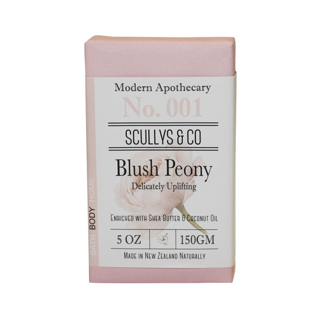 Scully's Blush Peony Twin Soap