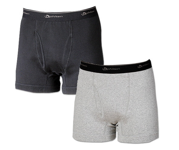Phiten Raku Boxer Brief Black L