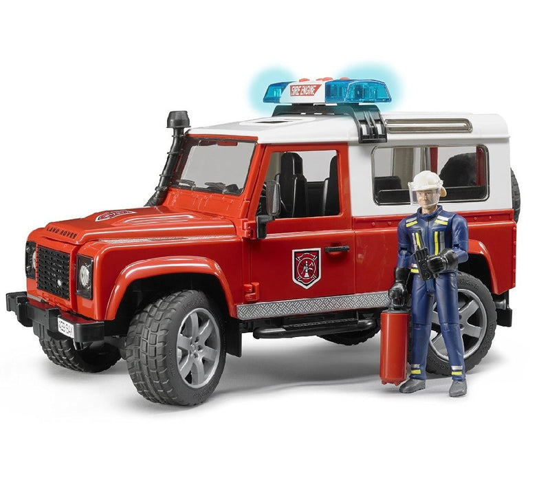 Stew Bruder Land Rover Fire Vehicle