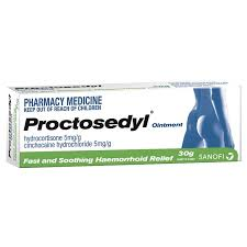 PROCTOSEDYL Oint 15g