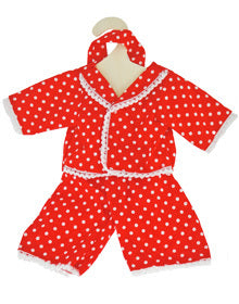 EGL Doll P J's Red & White