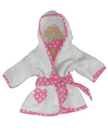 EGL Doll Dressing Gown P&W