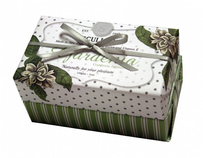 Scully's Gardenia Twin Soap