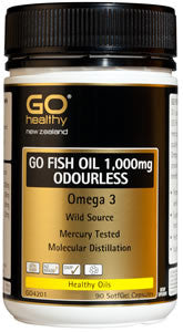 GO Fish Oil 1000mg 220caps