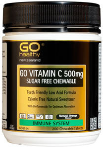 GO Vit. C 500mg Sugar Free 200 Chew