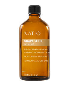 NATIO Carrier Oil Grape Seed 100ml