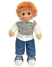 EGL Harry Boy Doll Denim Jeans 35cm