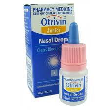 Otrivin F5 Junior Nasal Drops 10ml