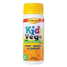 Radiance Kids Vege Chewable 60