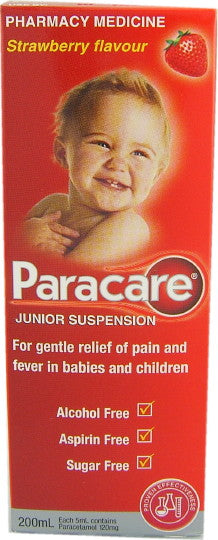 PARACARE Jr. S/Berry 200ml