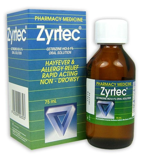 ZYRTEC Allergy & Hayfever Rel. 75ml