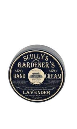 Scully's Lavender Hand Cream Gardeners Tin