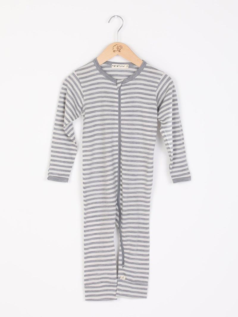 Moko Zip-In-One Cloudy Bay Stripe-NB
