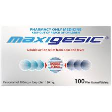 MAXIGESIC PAIN RELIEF 100s