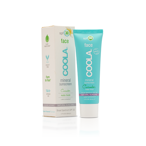 Coola Mineral Face SPF30 Matte Cucumber 50ml
