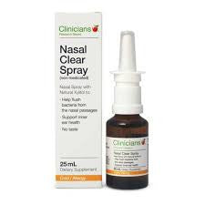 CLINIC. Nasal Clear (Non Med.) 25ml