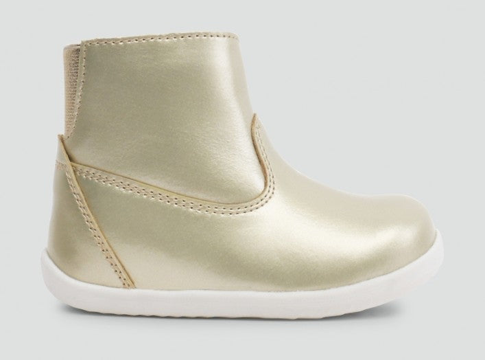 Bobux IW Paddington W/P Boot Gold 22