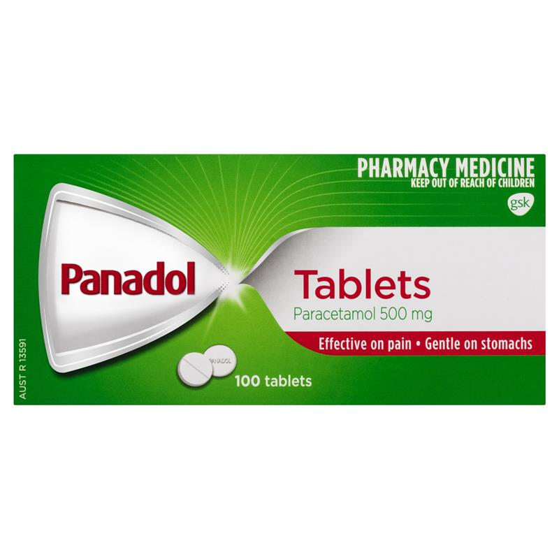 PANADOL Tablets 100s 8563