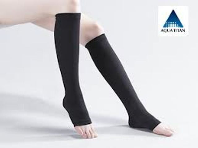 Phiten Ti+AG Compress Sock No Toe LL