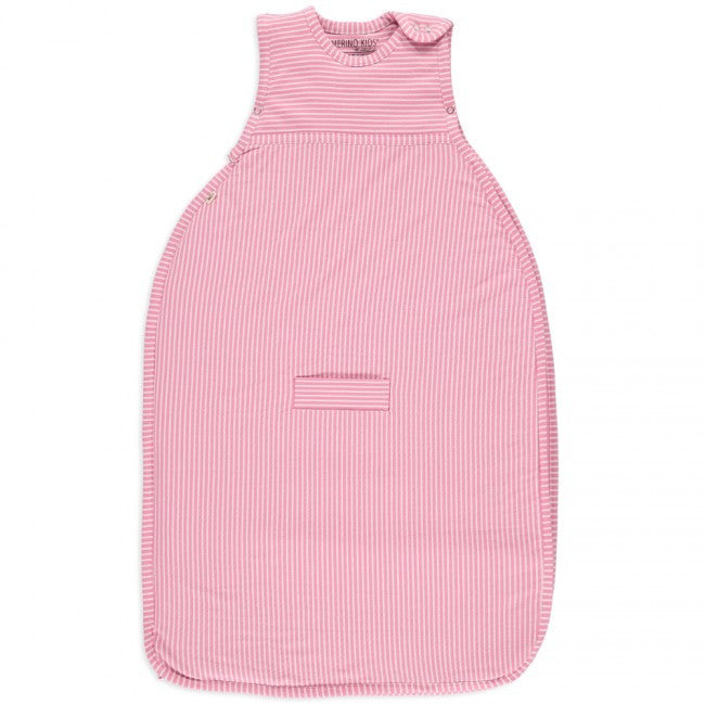Go Go Bag Merino Baby Std - Pink Stripe 0-2yrs