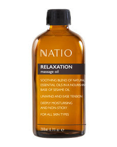 NATIO Mass. Oil Relaxation 200ml