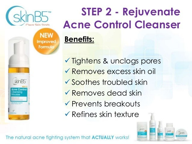 SkinB5 Acne Control Cleansing Mousse 150ml