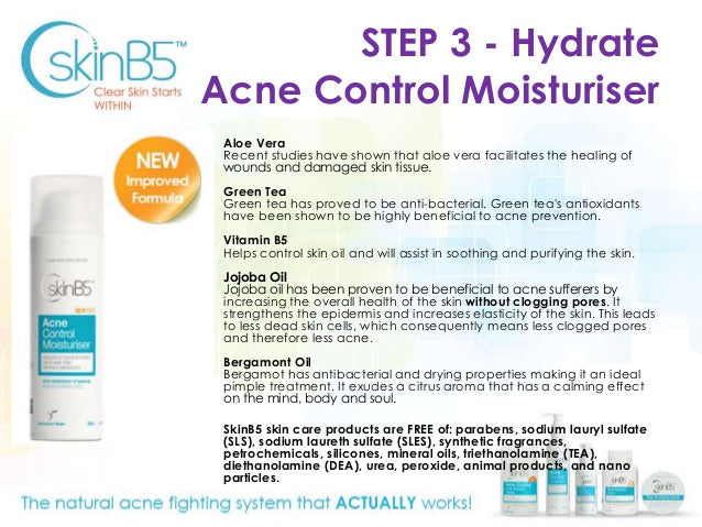 SkinB5 Acne Control Moisturiser 50ml