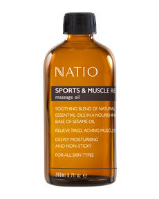 NATIO Mass. Oil Sports & Mass.200ml