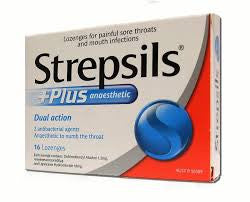 STREPSILS Anaesthetic Plus 16