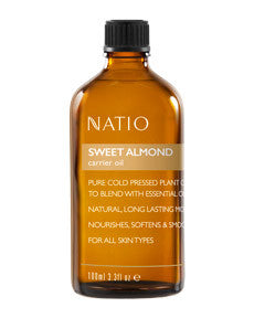 NATIO Carrier Oil Swt Almond 100ml: