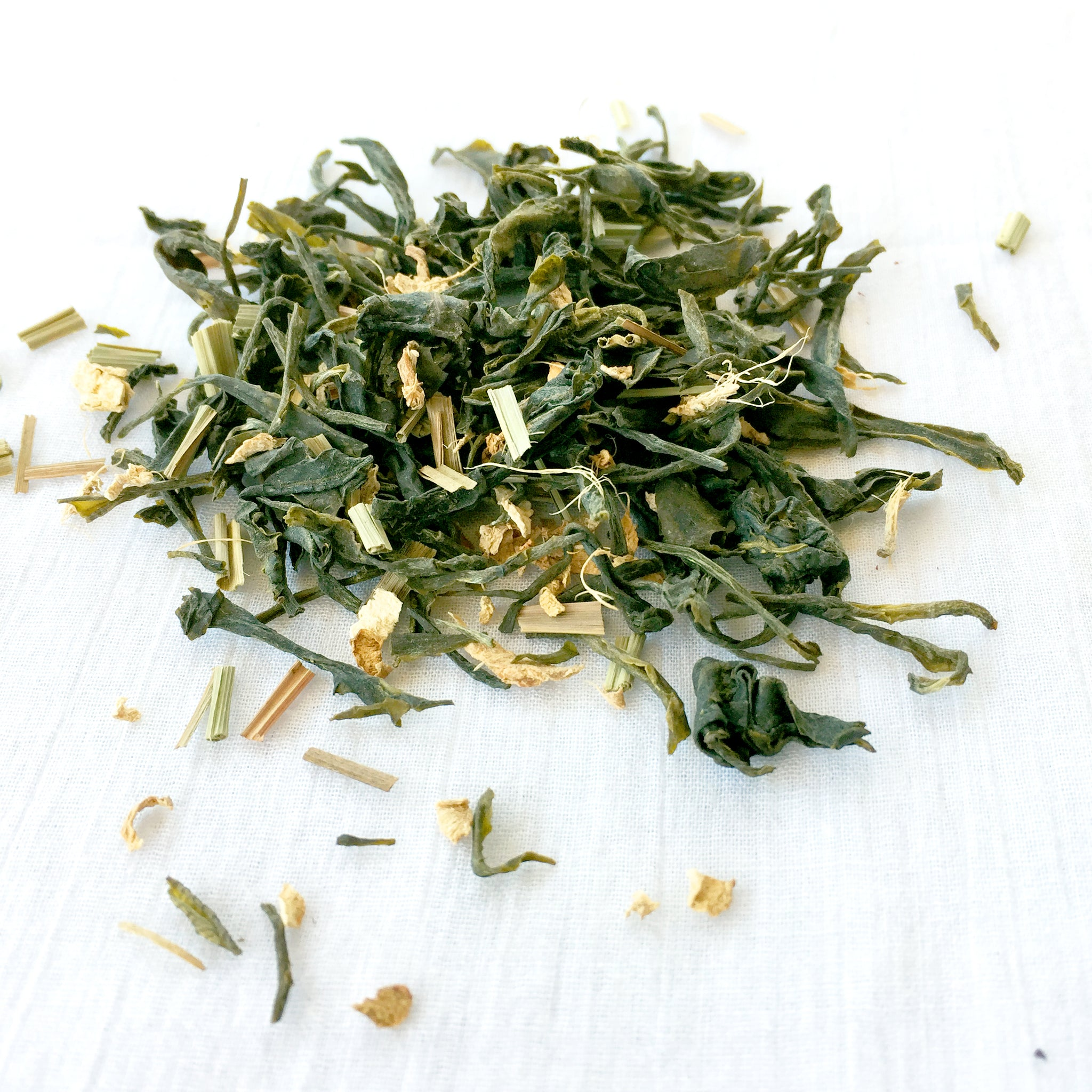 california girl - green tea, ginger, lemongrass
