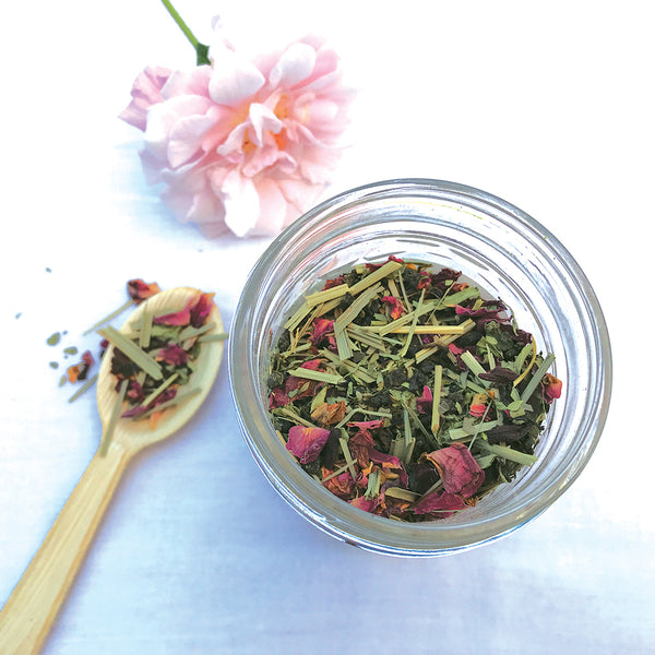 random act of kindness - TGFOP black tea, rose petals, lemongrass