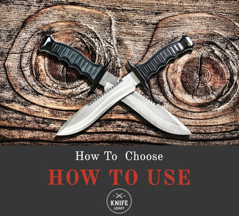 How to use a bowie knife